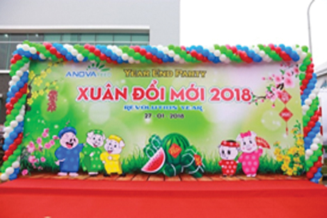 "ANOVA FEED - YEAR END PARTY - ""XUÂN ĐỔI MỚI 2018"""