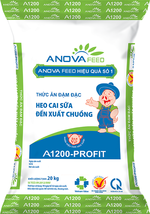 Concentrate feed (weaning - market)