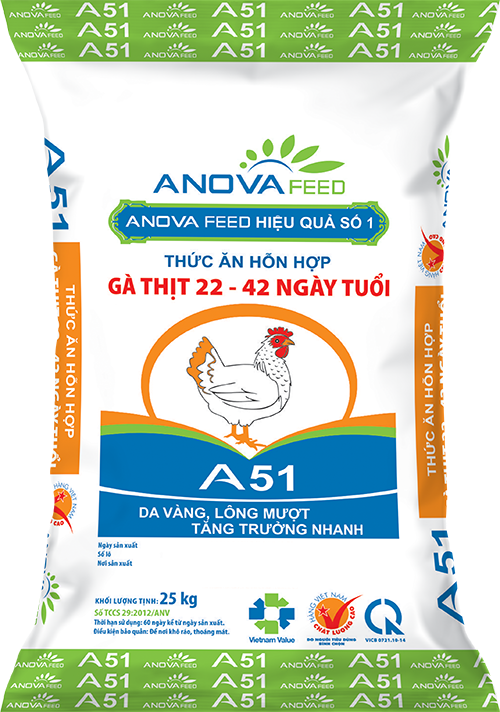 Broiler grower feed - pellet (22 - 42 days)