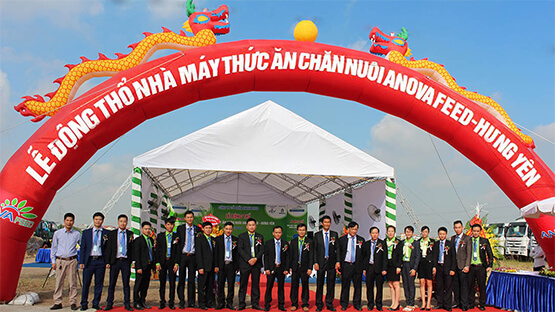 ANOVA FEED - GROUNDBREAKING THE THIRD FACTORY IN HUNG YEN